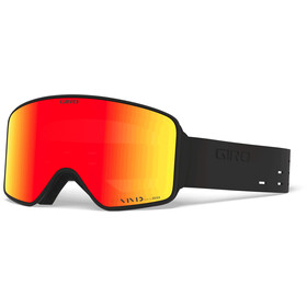 Giro Method Gafas, silli black/vivid ember/vivid infrared